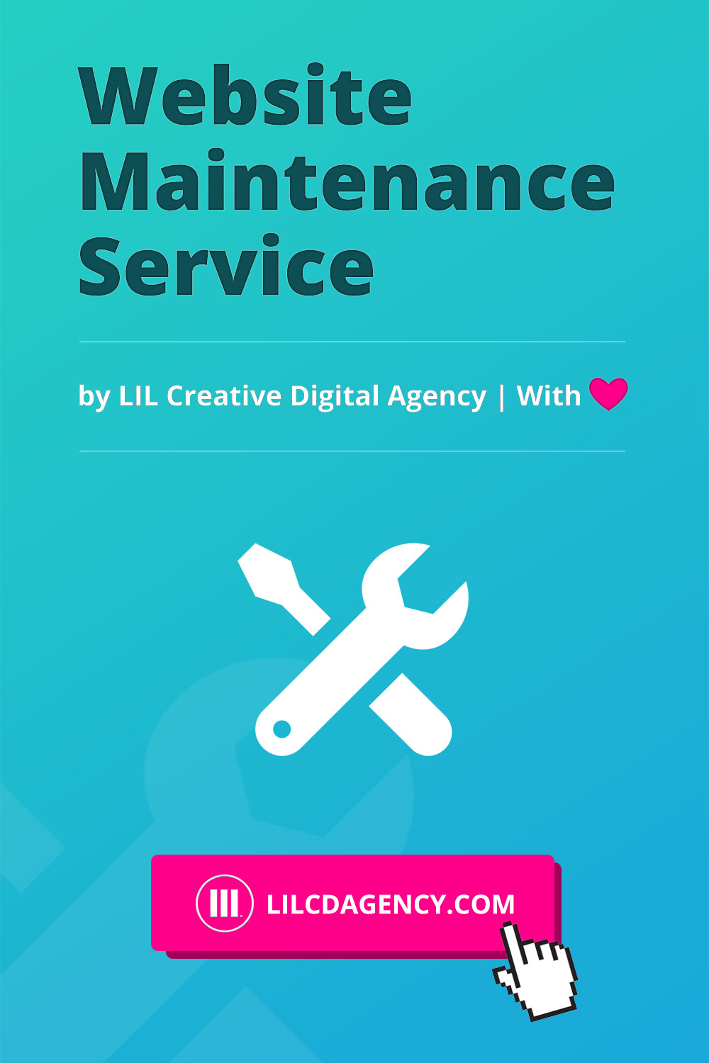 Website Maintenance Service by LIL Creative Digital Agency