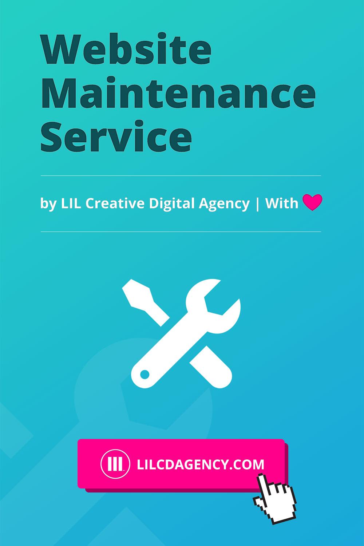 Website Maintenance Service by LIL Creative Digital Agency